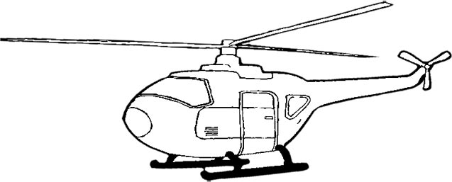 Aviation clipart black and white Clipart Free gunship%20clipart Helicopter White