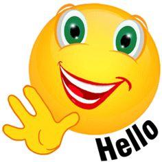 Hello! clipart Gif  hello Halloween Watch