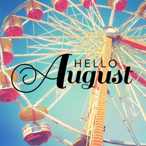Hello! clipart august Month pages clipart first new