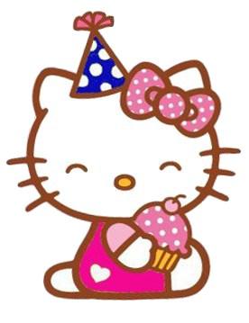 Hello! clipart birthday Kitty kitty Pinterest hello paper