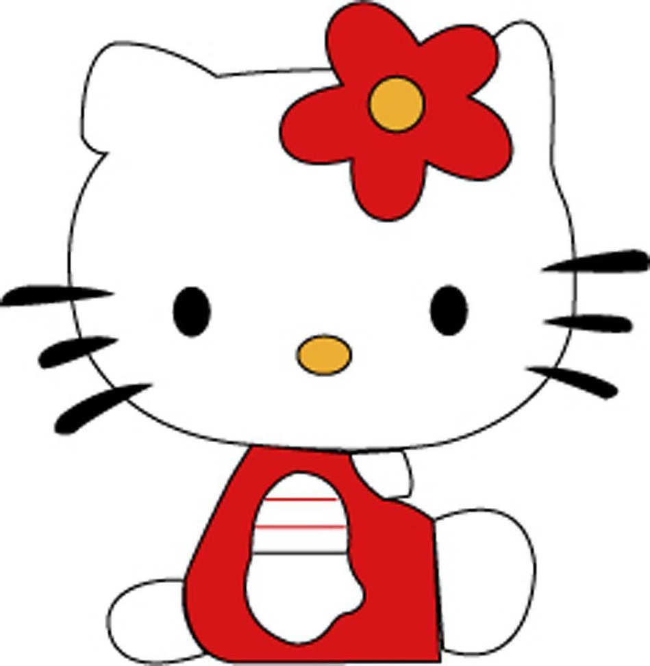 Hello! clipart cute Clipart Hello collection kitty art