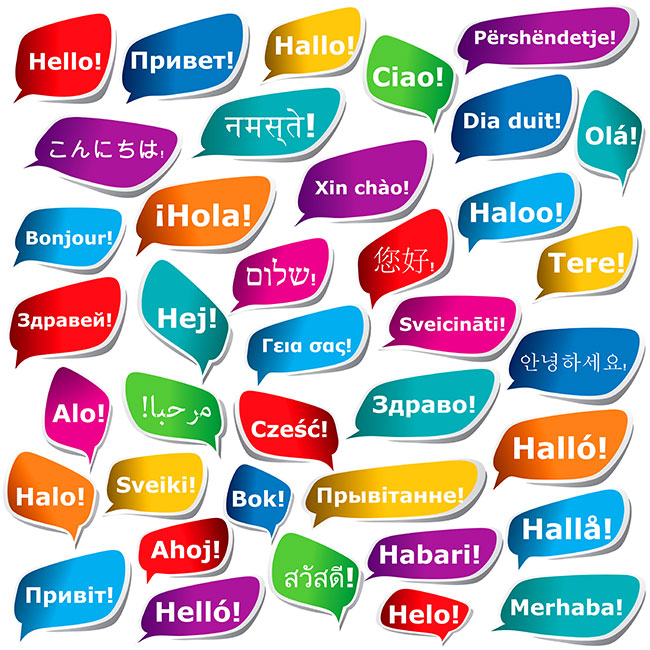 Hello! clipart different language Options English Language clipart collection