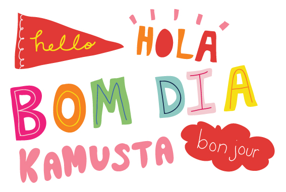 Hello! clipart different language Kids: how hello kids and