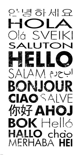 Hello! clipart different language  different #languages in Languages