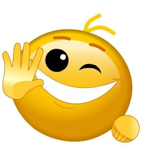 Hello! clipart emoticon 284 face Emoticon Pinterest best