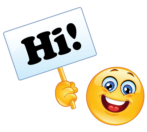 Hello! clipart emoticon Saying Saying Smiley and Smileys