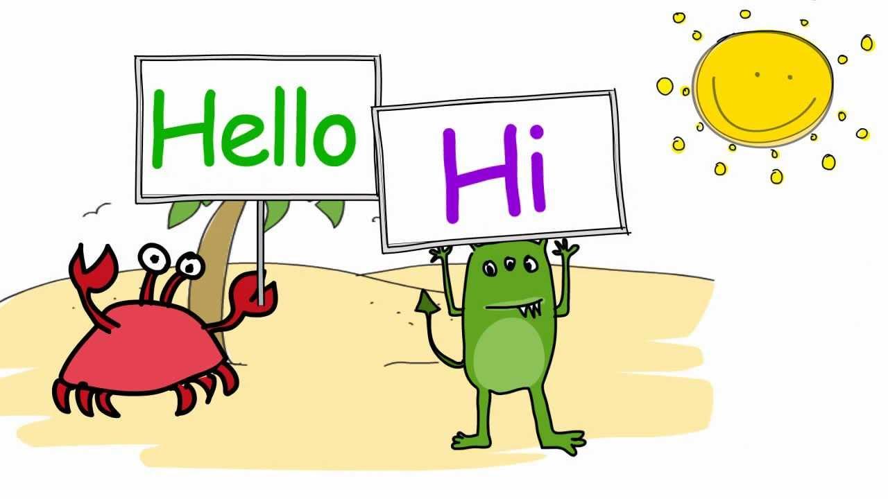 Hello! clipart english In Intercultural English say
