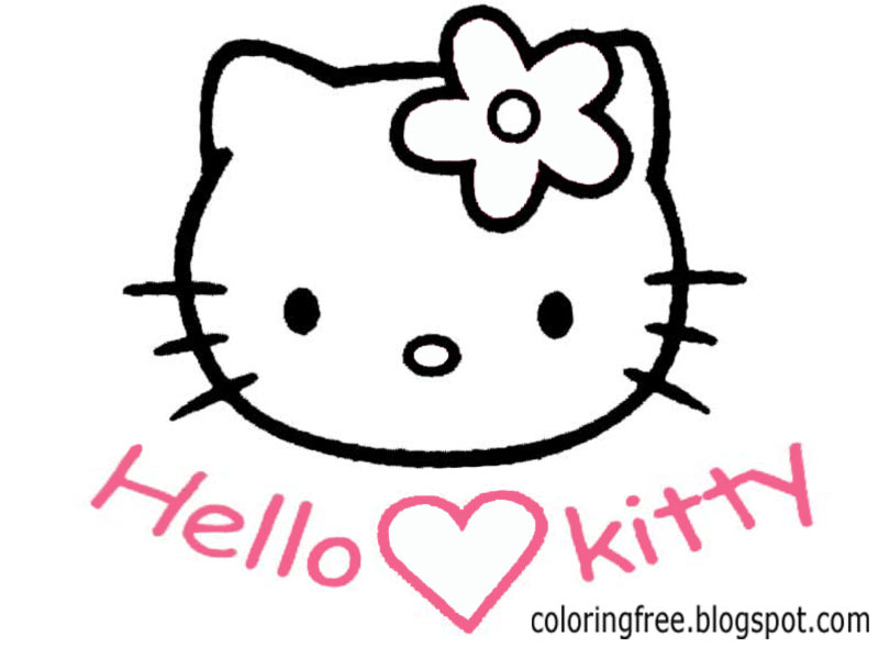 Hello! clipart face To Hello Free  Kids