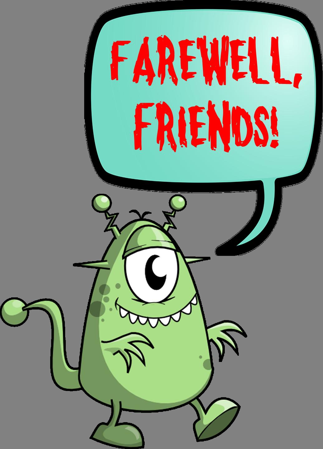 Hello! clipart farewell On Goodbye  Clip Art