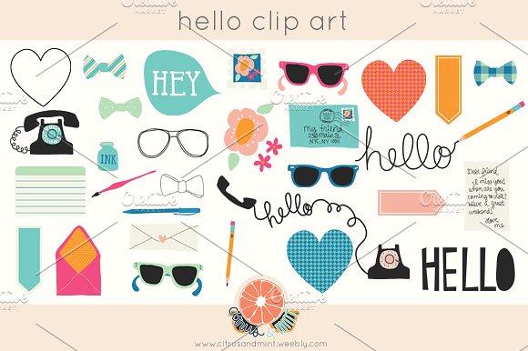 Hello! clipart hey Clip Hello Hello Market ~