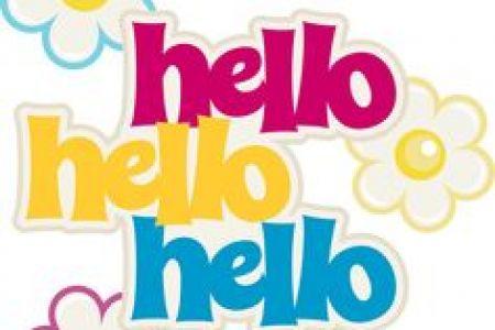 Hello! clipart hey Hey Just hi Hi DA