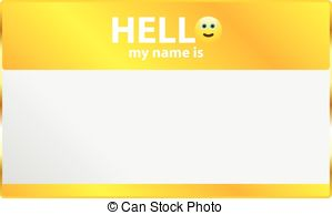 Hello! clipart my name is Is My Clipart say name