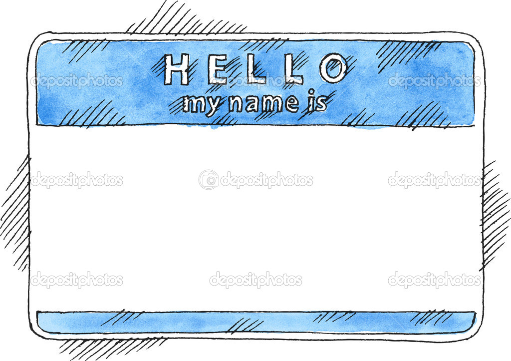 Hello! clipart name tag Tag Tag Clipart The Name