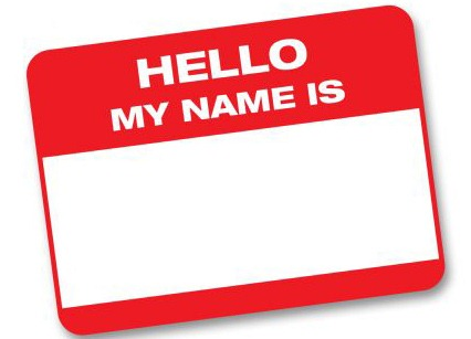 Hello! clipart name tag Clipart Badge Name Download Clipart
