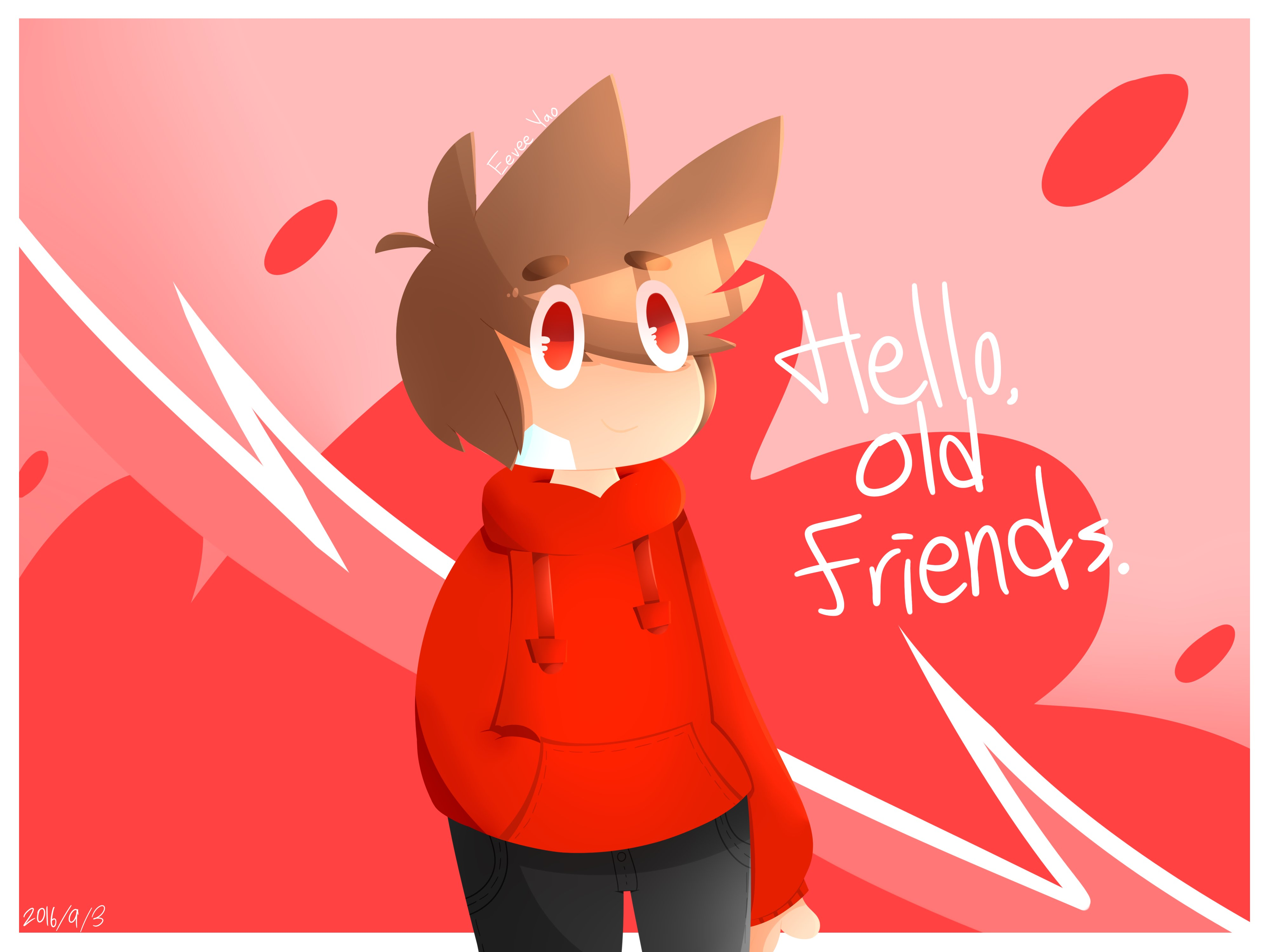 Hello! clipart old Friends speed draw:hello YouTube speed