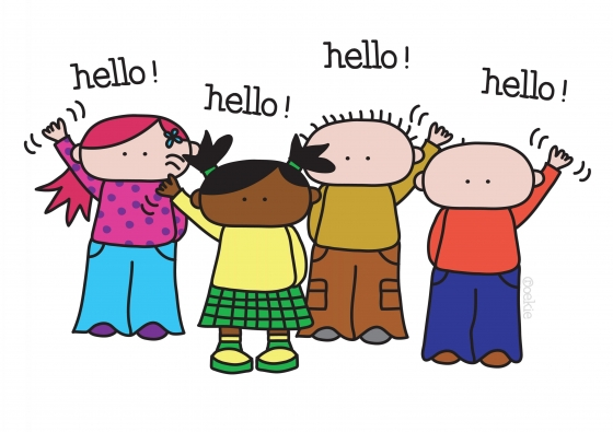 Hello! clipart say hello Say Others and Hello! Inspiration