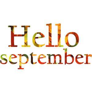 Hello! clipart september September Hello on Hello Pinterest