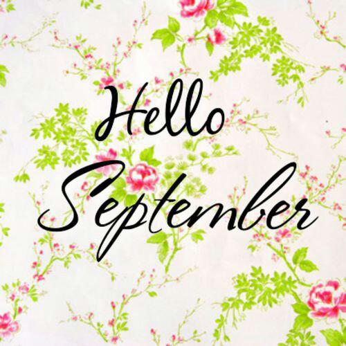 Hello! clipart september September Hello Welcome Hello month