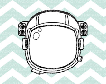 Astronaut clipart astronaut helmet File SVG Cutting Astronaut Etsy