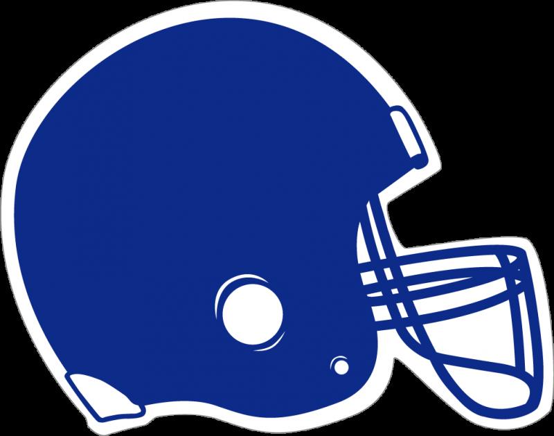 Football clipart light blue #4