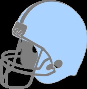 Football clipart light blue #1