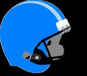 Football clipart light Clip  Blue/light Art Blue