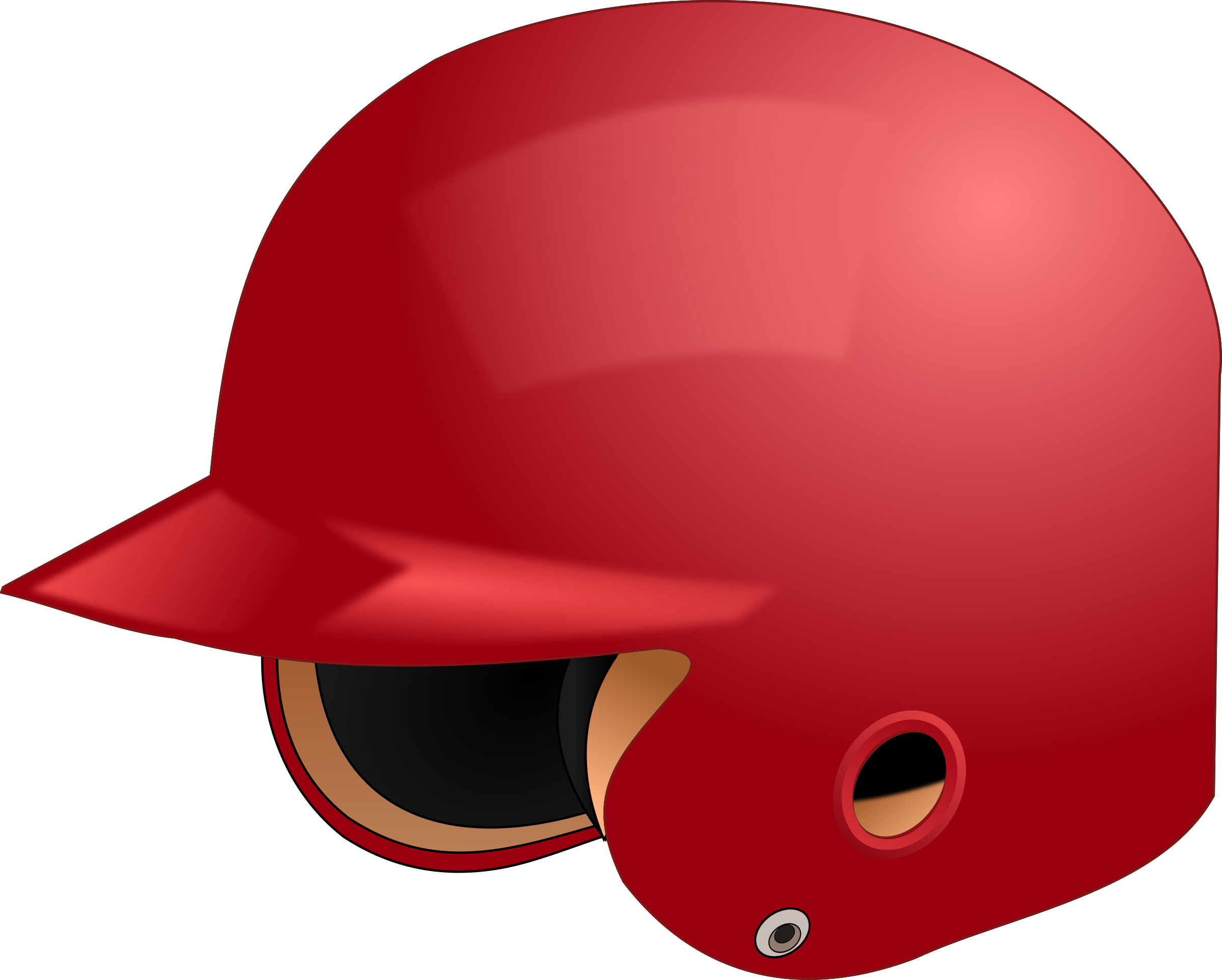 Baseball clipart baseball helmet Art Baseball Baseball  Clip