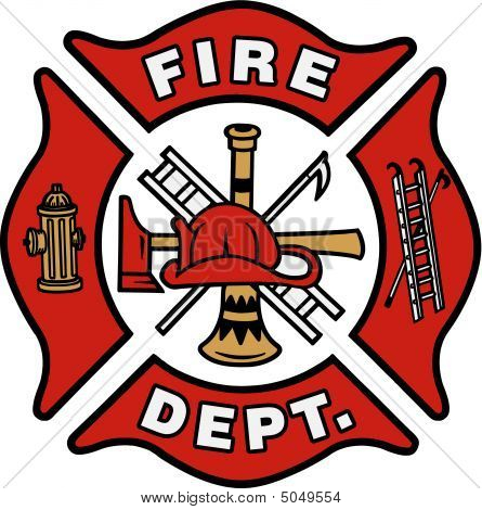 Firefighter clipart badge Format art free emblem