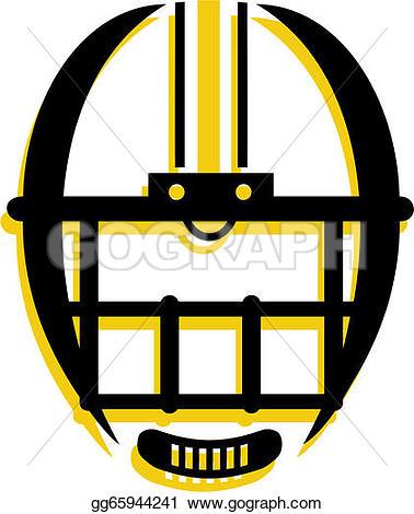 Yellow clipart football helmet Graphic Free of · Football