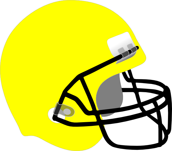 Football clipart colored #9