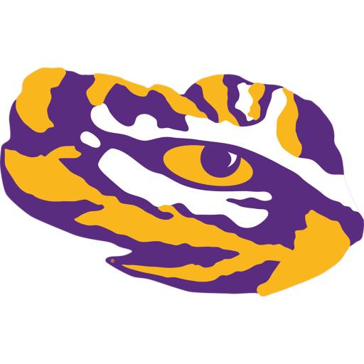 Paw clipart lsu tiger Lsu logo football lsu