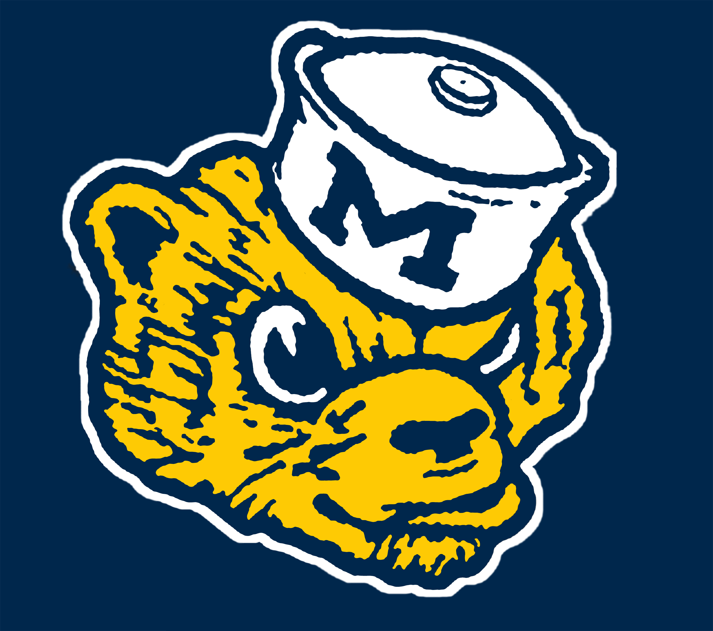 Wolverine clipart old school Michigan Comment mgoblog options Vintage