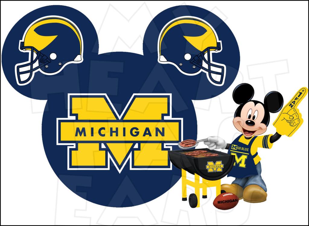 Michigan clipart Michigan Football Clipart #1