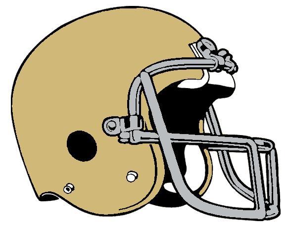 Yellow clipart football helmet Jpg Dame helmet Dame File:Notre