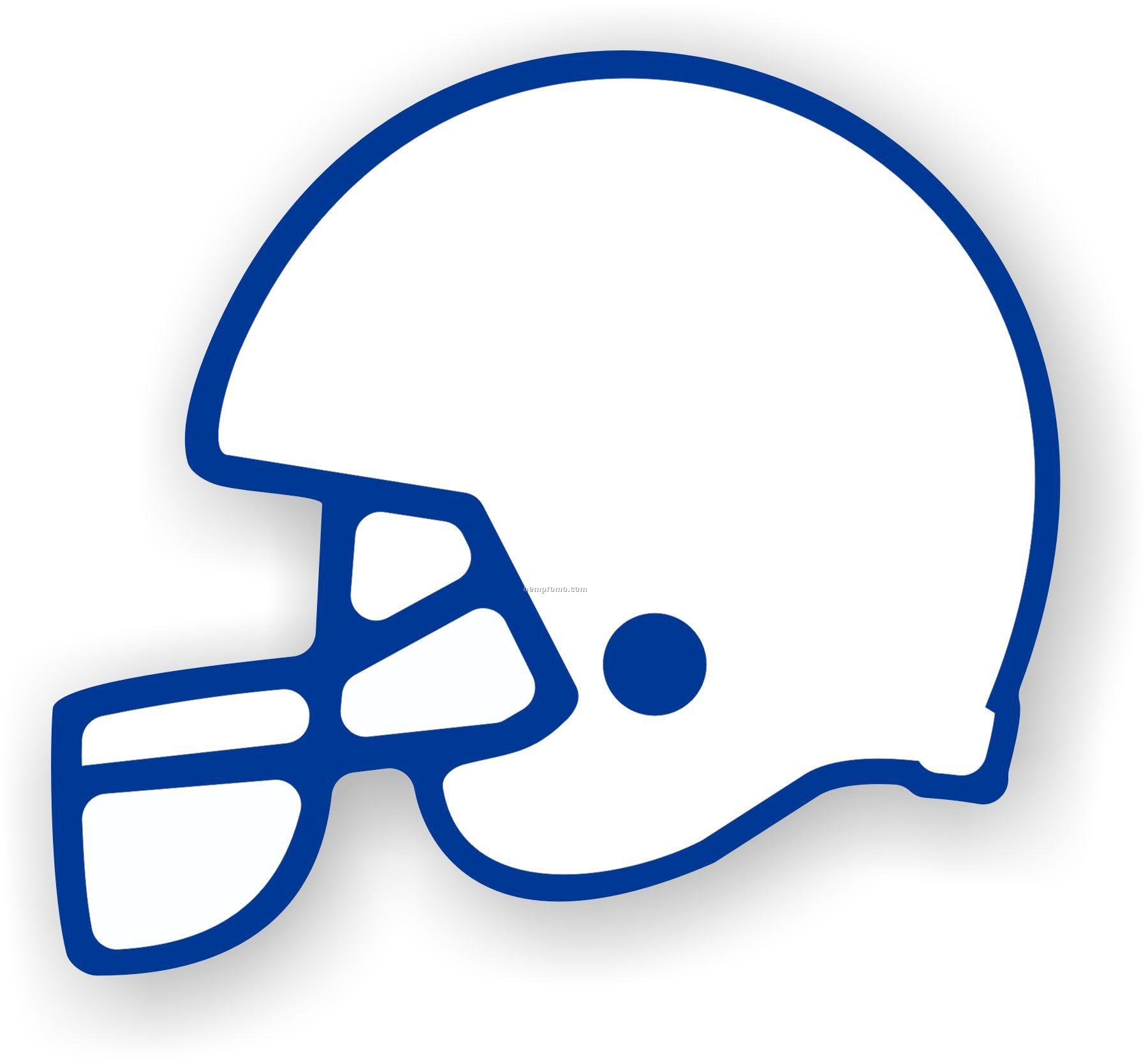 Simple clipart football helmet Outline football clipartfox clipart 2