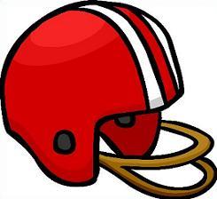 Football clipart things Helmet football Free red helmet