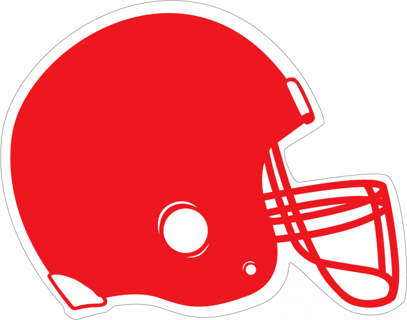 Football clipart colored #4