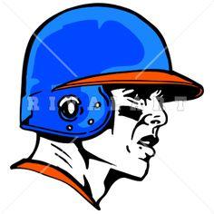 Baseball clipart baseball helmet Graphic Baseball Color Mean Baseball