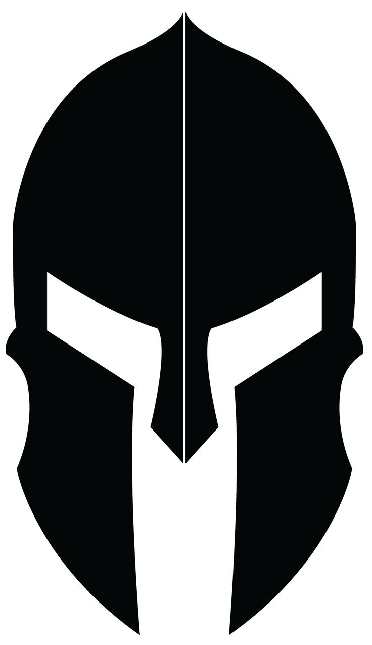 Achilles clipart helmet Pinterest Spartan helmet design Logo