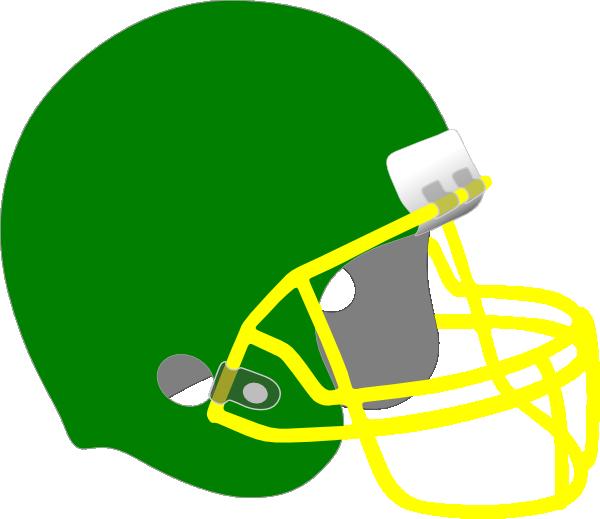 Yellow clipart football helmet Art at public online com