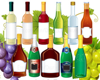 Drink clipart liquor Drink Bottle png clip files
