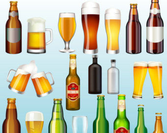 Alcohol clipart #14