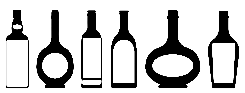 Alcohol clipart rum bottle Clip Bottle Free Art Clipart