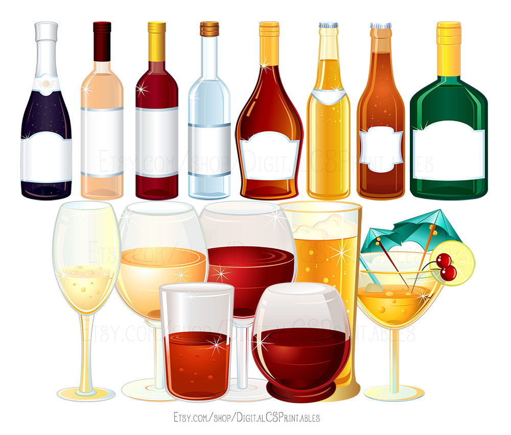Boose clipart alcoholic drink Clipart clipart clipart Liquor Drink