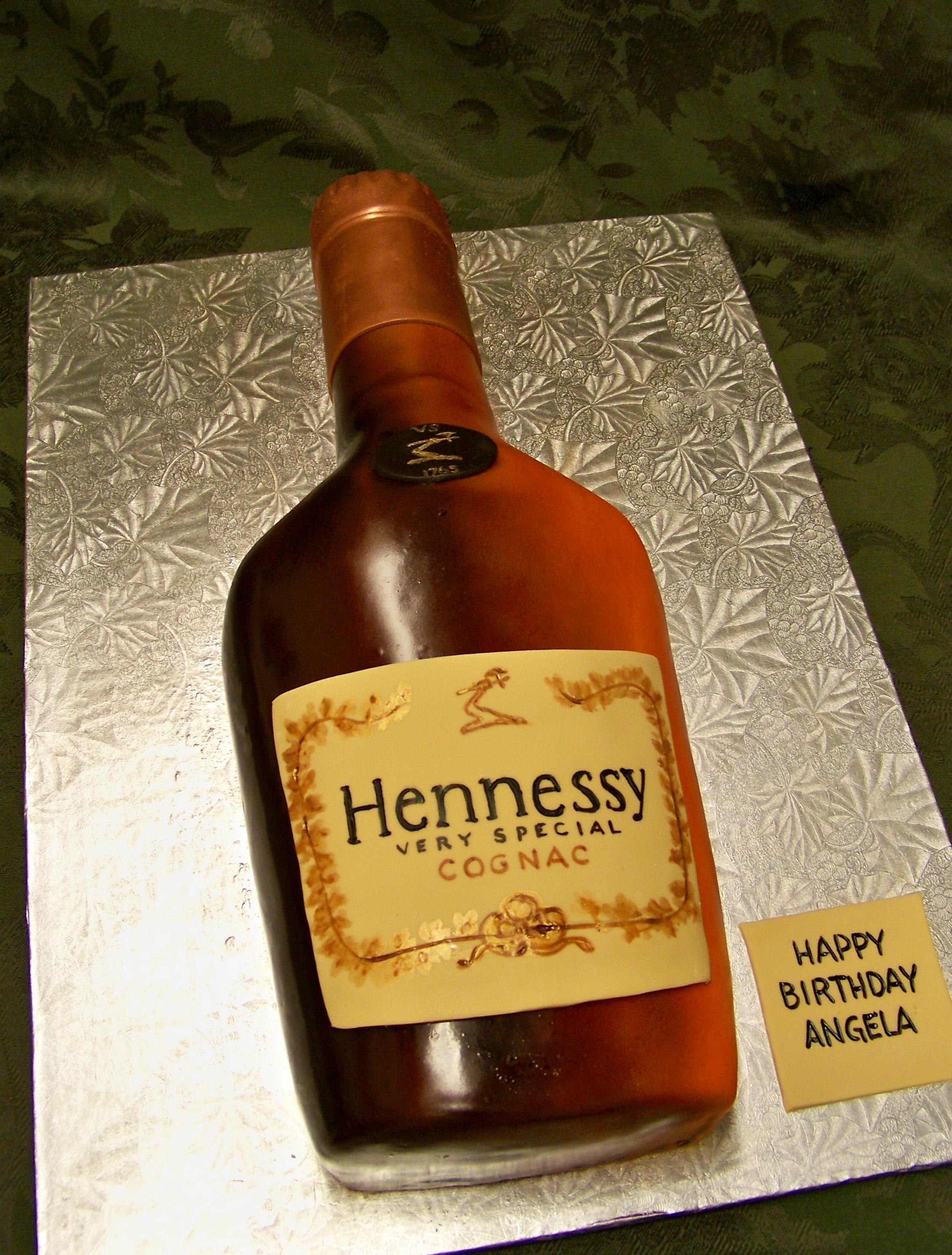 Hennessy clipart Cartoon Hennessy Bottle Cake Hennessy cake Pinterest bottle