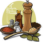 Herbs And Spices clipart different kind Flavoring Art GoGraph Clip ·