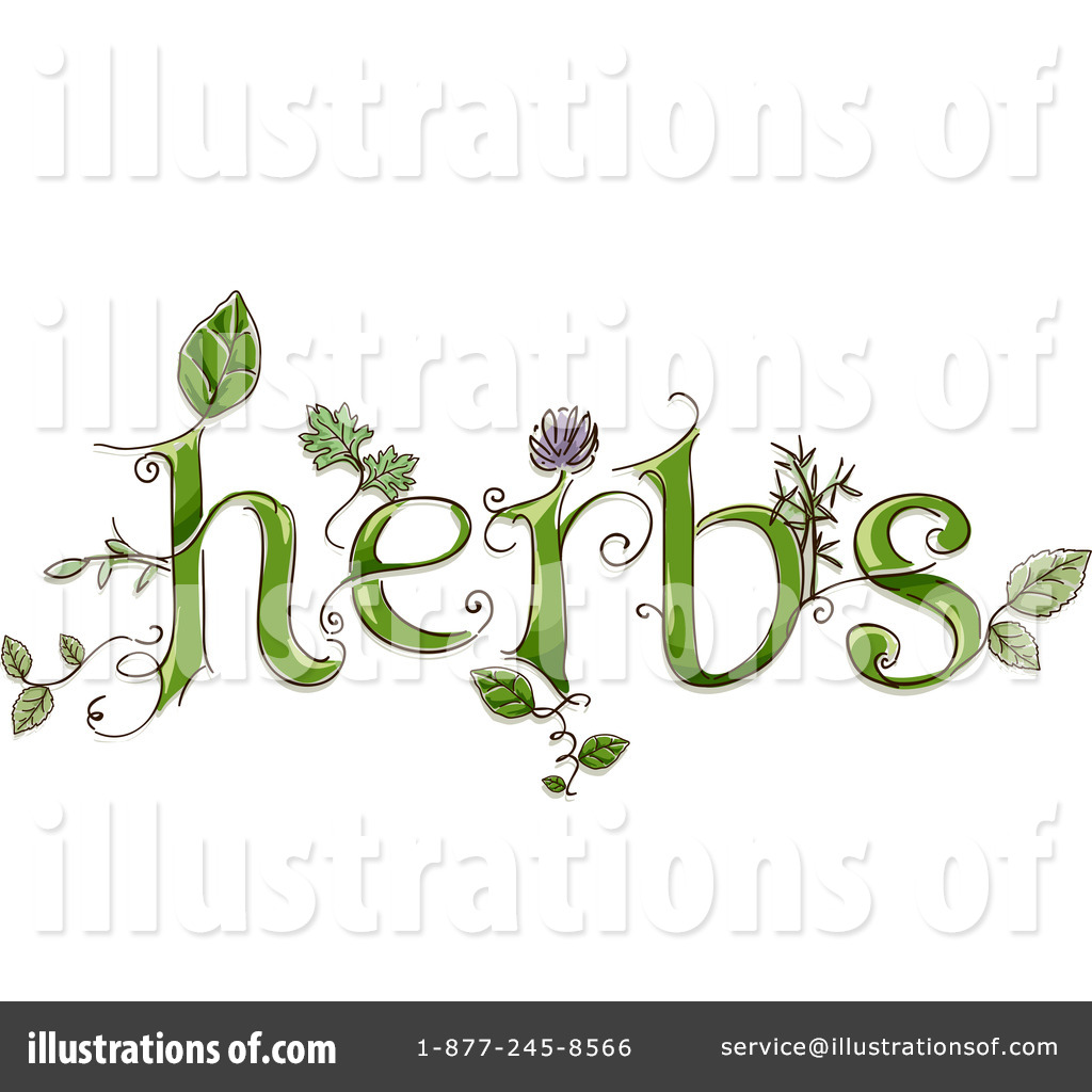 Herbs clipart (RF) Studio Studio Herbs Sample