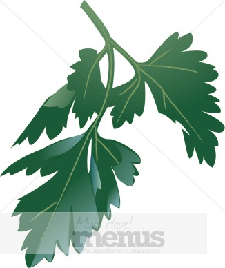 Herbs clipart oregano MustHaveMenus Parsley Clipart Graphics &