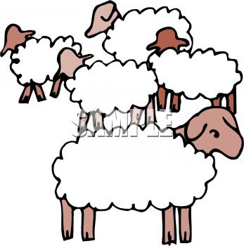 Herd clipart Sheep Clipart Herd Herd Of