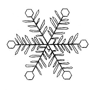 Drawn snowflake cute Snow encyclopedia early drawings from